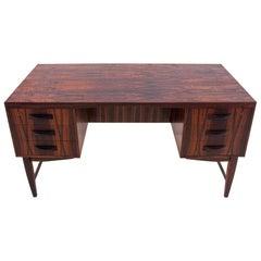 Rosewood Desk, Danish Design, 1960s
