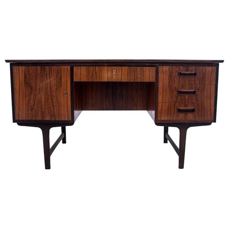 Rosewood Desk, Denmark, 1960s For Sale
