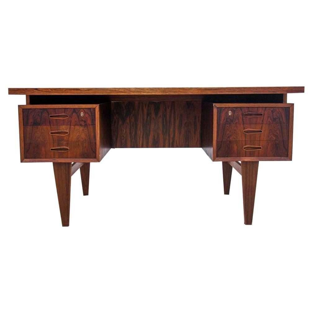 Rosewood Desk, Denmark, 1960s