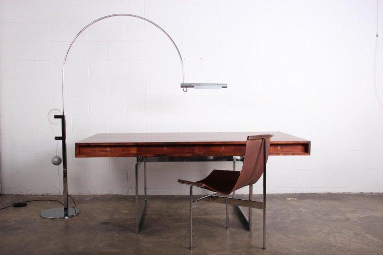 Rosewood Desk Model 901 by Bodil Kjaer for E. Pedersen & Søn For Sale 8