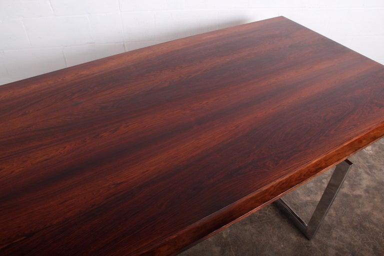 Rosewood Desk Model 901 by Bodil Kjaer for E. Pedersen & Søn For Sale 5