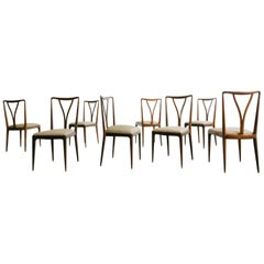 Rosewood Dining Chair, Giuseppe Scapinelli, Brazilian Midcentury, 1950s
