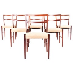 Rosewood Dining Chairs by Johannes Andersen for Bernhard Pedersen & Sons