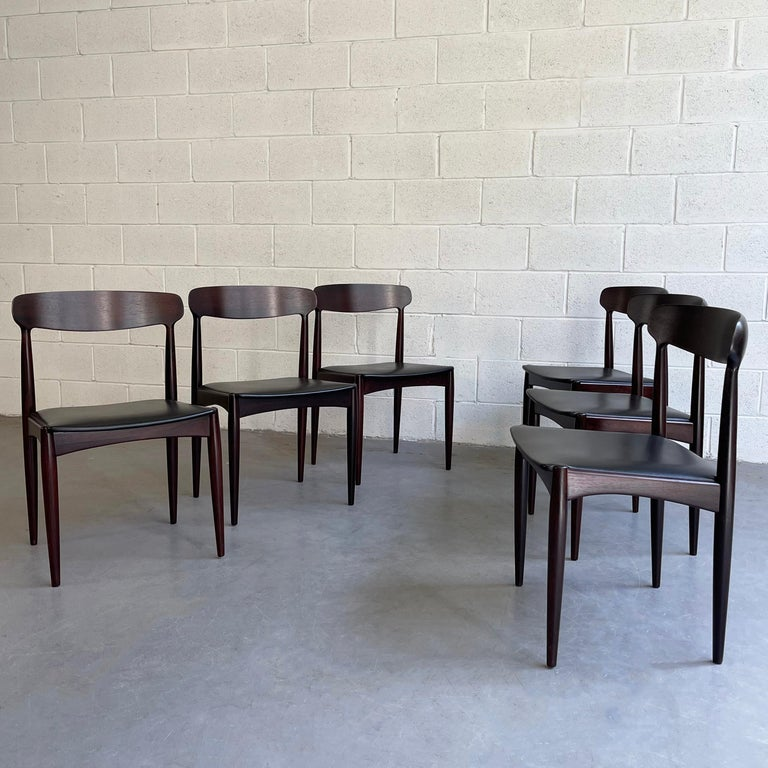 20th Century Rosewood Dining Chairs by Johannes Andersen for Uldum Møbelfabrik For Sale