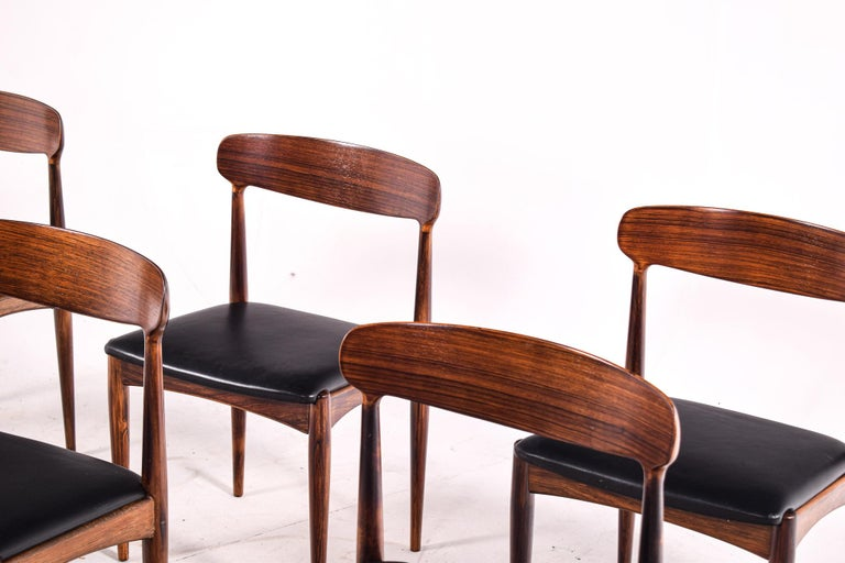 Mid-20th Century Rosewood Dining Chairs by Johannes Andersen for Uldum M∅belfabrik For Sale