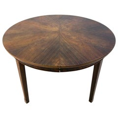 Rosewood Dining Room Table in Danish Design