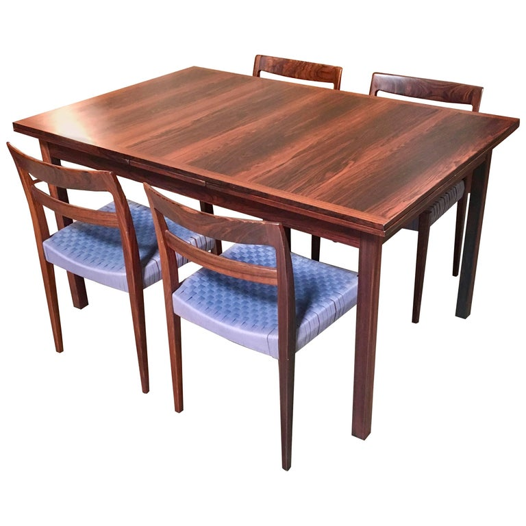 Rosewood Dining Room Set: Rosewood Dining Set By Troeds For Sale At 1stdibs