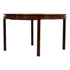 Rosewood Dining Table by Alfred Hendrickx for Belform, Belgium, 1960s