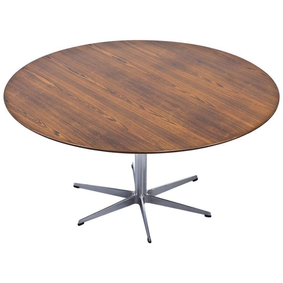 Rosewood Dining Table by Arne Jacobsen for Fritz Hansen, 1968