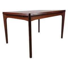 Rosewood Dining Table by Henning Kjærnulf for Vejle Møbelfabrik, 1960, Denmark