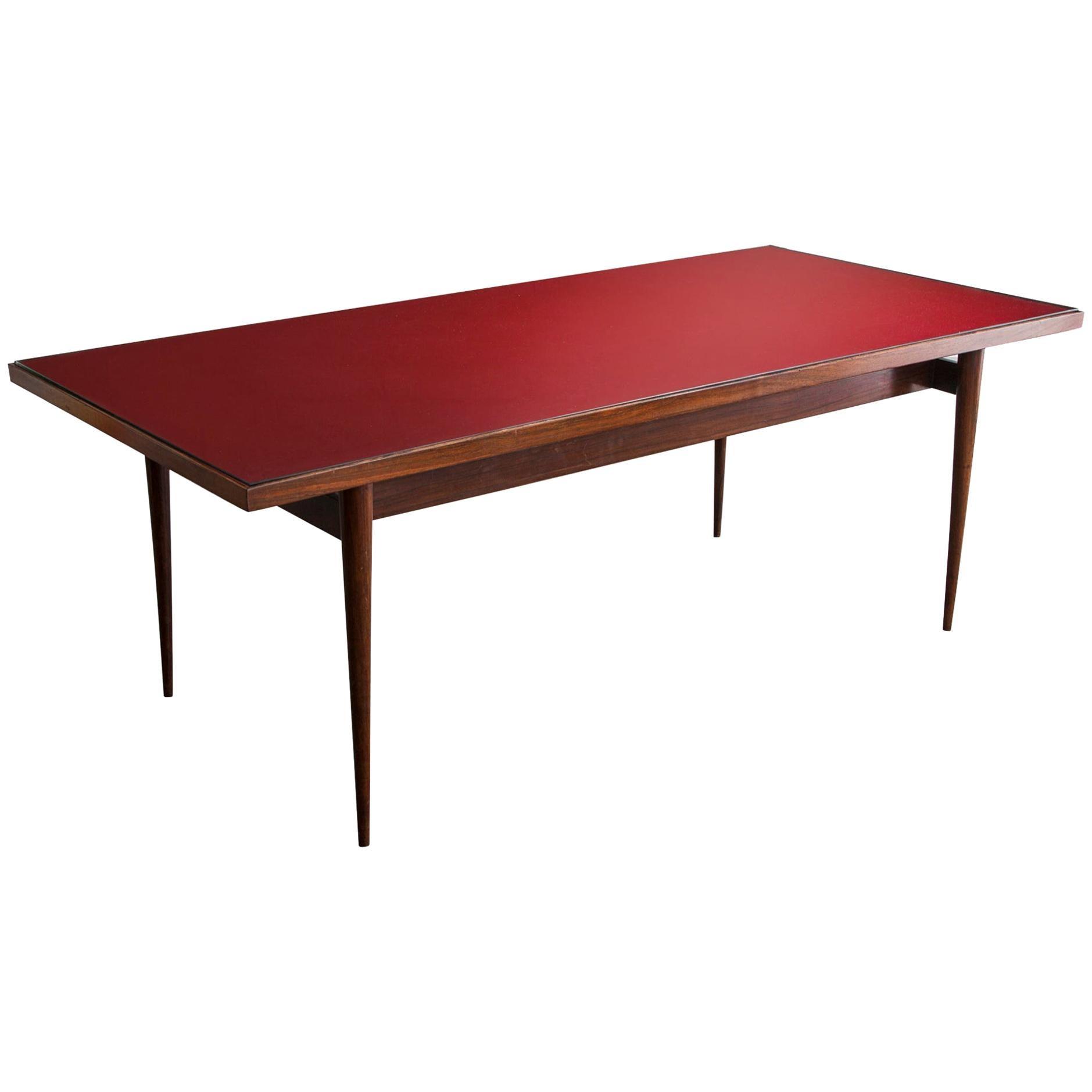 Rosewood Dining Table by Joaquim Tenreiro, 1948