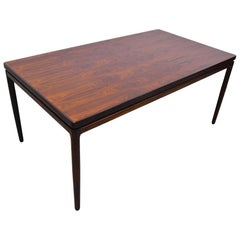 Rosewood Dining Table by Johannes Andersen for Christian Linnebergs Möbelfabrik