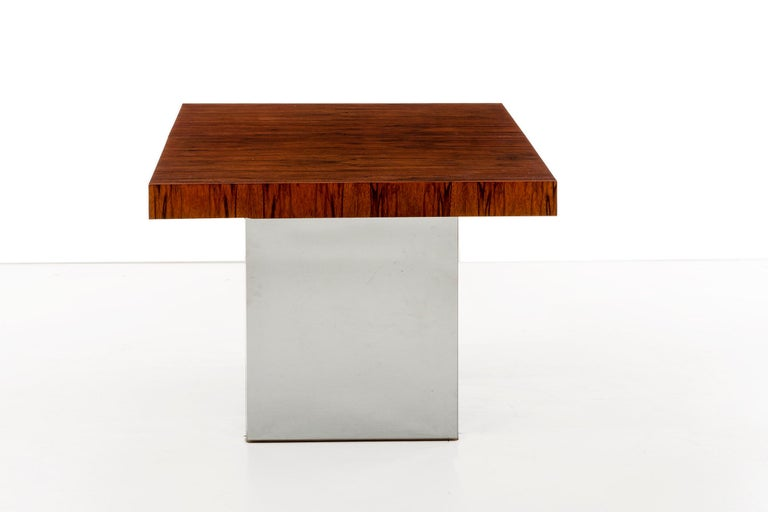 American Rosewood Dining Table by Milo Baughman For Sale