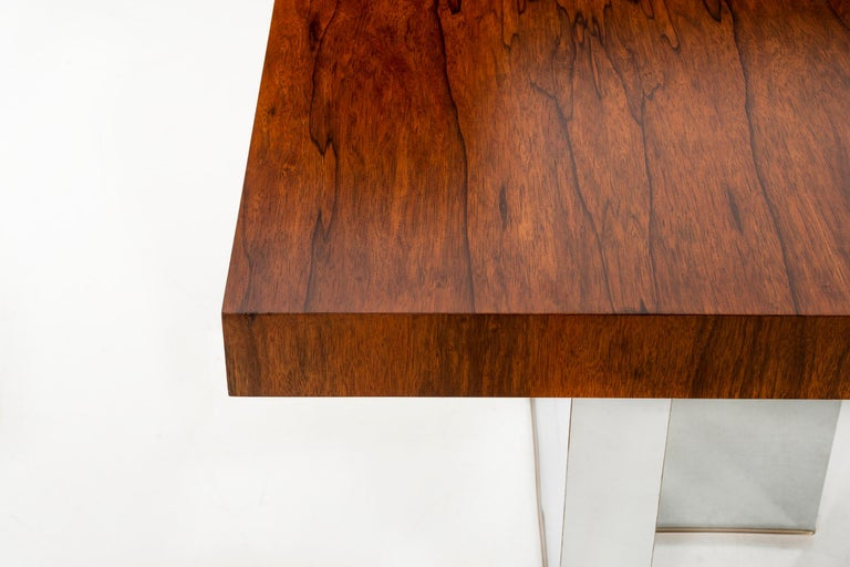 Rosewood Dining Table by Milo Baughman For Sale 1