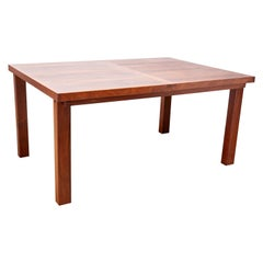Rosewood Dining Table w/ Leaf
