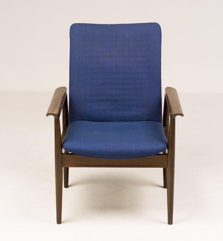 Danish Rosewood Diplomat Chair by Finn Juhl For Sale