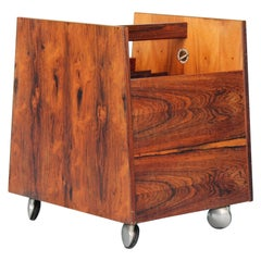 Rosewood Disc Storage