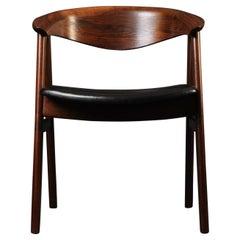 Rosewood Erik Kirkegaard Desk Chair