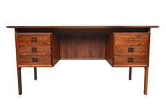 Rosewood Executive Desk by Arne Vodder