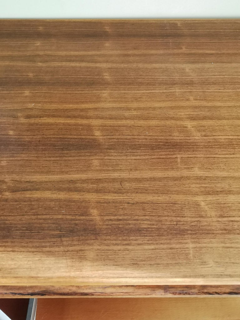Scandinavian Modern Rosewood Executive Desk by Bodil Kjaer For Sale
