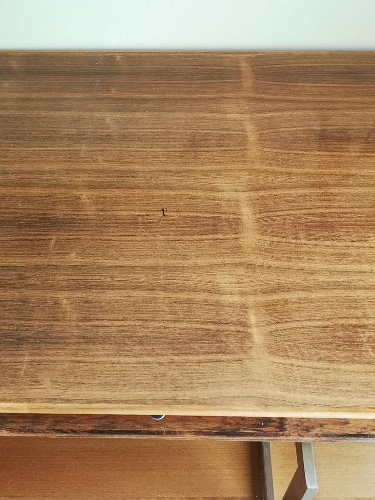 Danish Rosewood Executive Desk by Bodil Kjaer For Sale