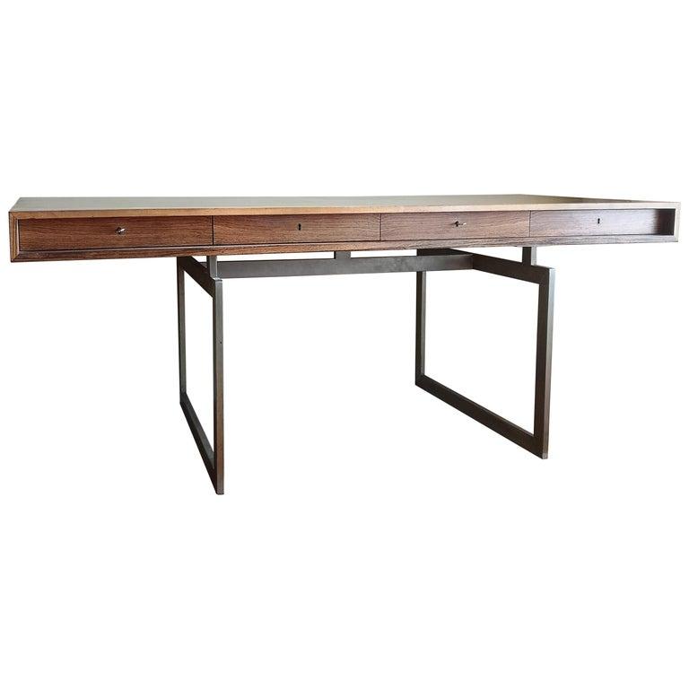Rosewood Executive Desk by Bodil Kjaer For Sale