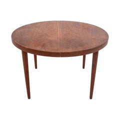 Rosewood Extendable Dining Table in Danish Design, 1960s