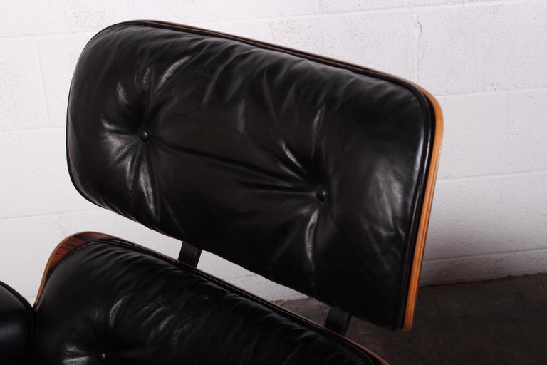 Rosewood Lounge Chair and Ottoman by Charles Eames for Herman Miller 7