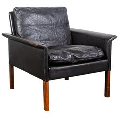 Rosewood Lounge Chair by Hans Olsen for CS Møbler