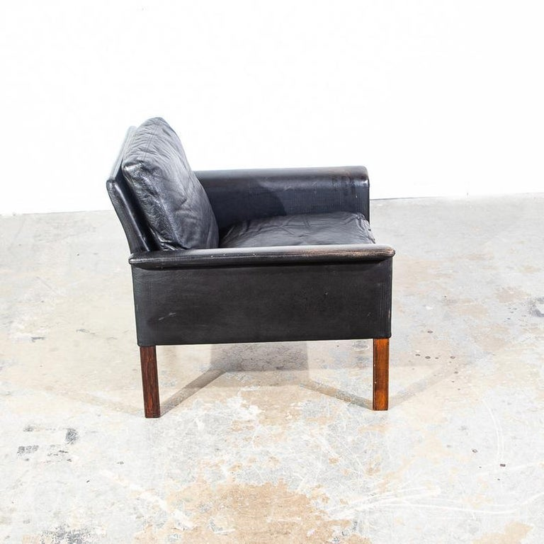 Mid-Century Modern Rosewood Lounge Chair by Hans Olsen for CS Møbler For Sale