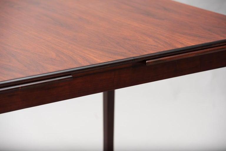 Mid-20th Century Rosewood Mid-Century Modern Danish Dining Table