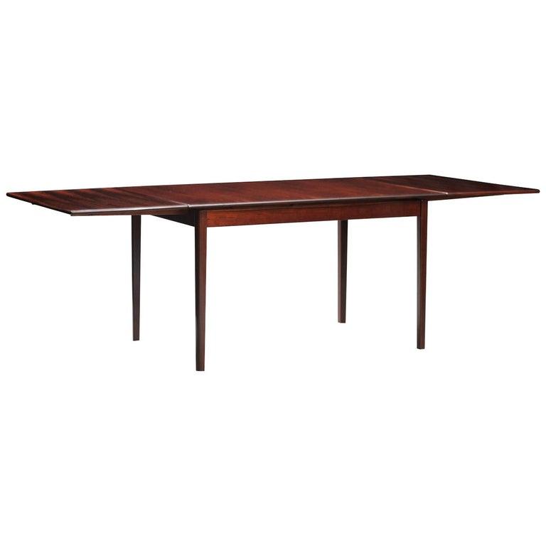 Rosewood Mid-Century Modern Danish Dining Table