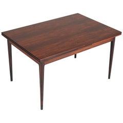 Rosewood Mid-Century Modern Extending Table by Niels O. Møller for J.L. Møllers