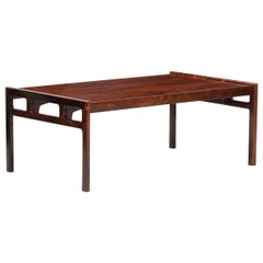 Rosewood Mid-Century Modern Rosewood Coffee Table