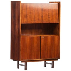 Rosewood Mid-Century Modern Rosewood High Cabinet