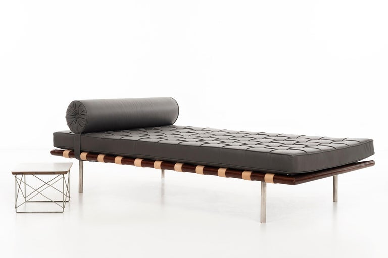 Rosewood Mies Van Der Rohe Barcelona Daybed For Sale At 1stdibs