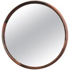 Rosewood Mirror, Sweden, 1960s