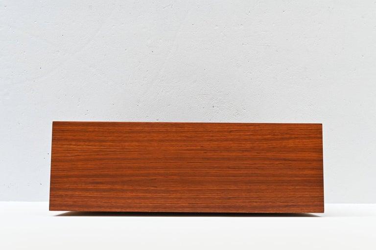 Rosewood Modernist Cabinet, Belgium, 1964 3