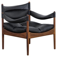 Rosewood Modus Lounge Chair by Kristian Vedel for Søren Willadsen, 1960s