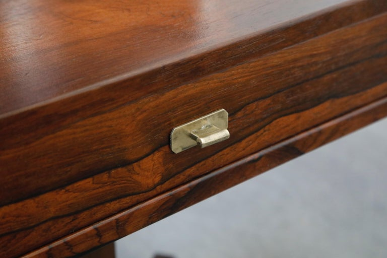 Rosewood Nightstands by Claudio Salocchi for Sormani, Italy, c 1960s For Sale 10