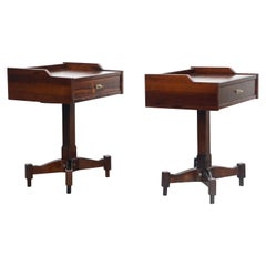 Rosewood Nightstands by Claudio Salocchi for Sormani, Italy, c 1960s