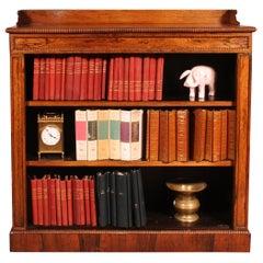 Rosewood Open Bookcase Regency Period, 19 Century