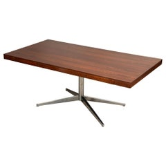 Rosewood Partners Desk by Florence Knoll