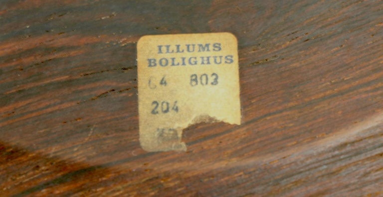 20th Century Rosewood Plate by Illums Bolighus For Sale