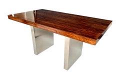 Rosewood Platform Desk by Roger Sprunger for Dunbar