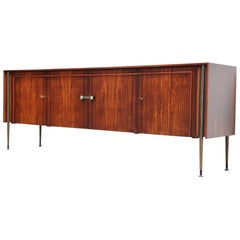 Rosewood Post Art Deco Sideboard Holland, 1950