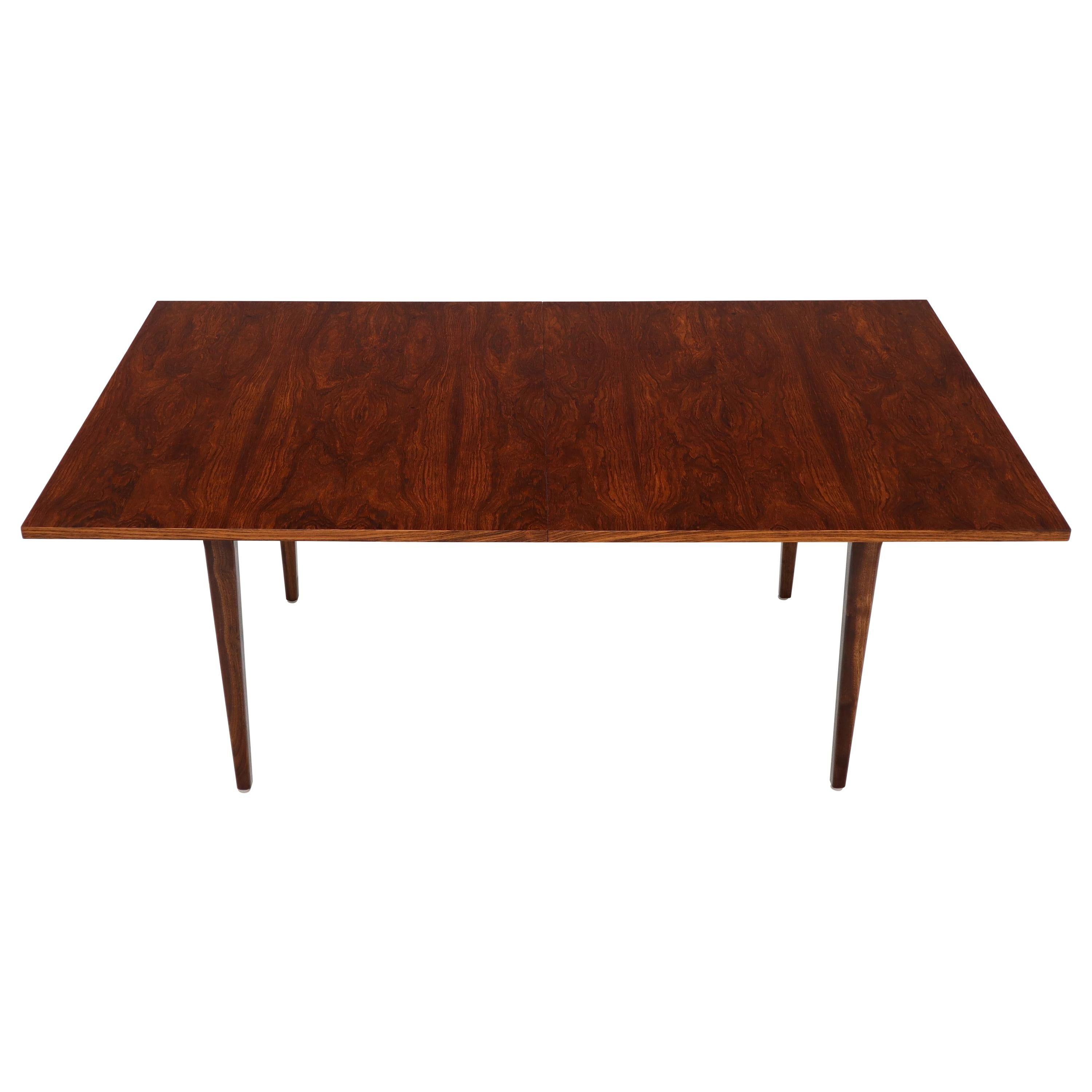 Rosewood Rectangular Dining Table by George Nelson for Herman Miller 2 Leaves