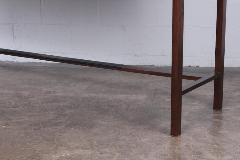 Rosewood Roll Top Desk by Edward Wormley for Dunbar For Sale 3