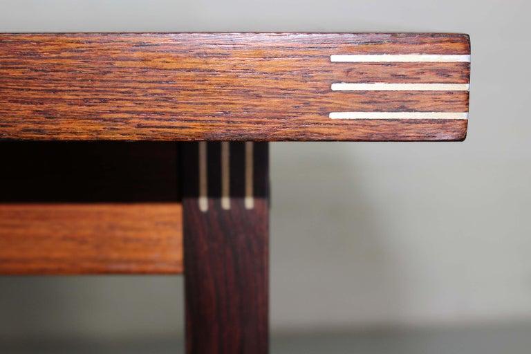 Rosewood Rud Thygesen for Heltborg Møbler Danish Modern Coffee Table, 1960s  For Sale 4