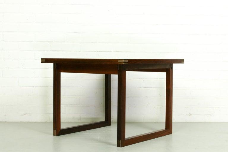 Rosewood Rud Thygesen for Heltborg Møbler Danish Modern Coffee Table, 1960s  For Sale 1